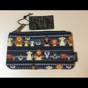 NWT Lion King Disney Loungefly Cosmetic Bag